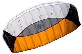 Elliot Sigma Spirit Lenkdrachen schwarz/weiß/orange