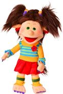 Living Puppets Hand Puppe Trienchen Mädchen Girl Troll W830 45cm Soft Toy