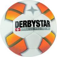 Derbystar Stratos Pro TT, 5, weiß orange gelb, 1125500175