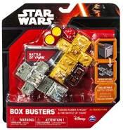 Spin Master 6025124 - Star Wars - Box Busters Two-Pack Starter Set, Würfelspiel
