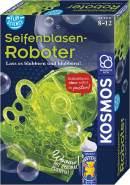 KOSMOS Fun Science Seifenblasen-Roboter, Schillernde Seifenblasen am laufenden Band ohne Pusten, Elektronik-Bausatz, original Pustefix-Seifenblasenflüssigkeit, Experimentierkasten für Kinder ab 8-12