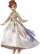 Disney Die Eiskönigin Anna aus Arendelle Deluxe Modepuppe mit glitzerndem, weißen Outfit, inspiriert von Disneys Die Eiskönigin 2 – Spielzeug für Kinder ab 3 Jahren