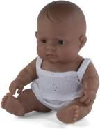 Miniland 31128 - Baby (südamerikanisches Mädchen) 21 cm