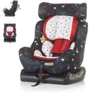 Chipolino Kindersitz Trax Neo Gruppe 0+/1/2 (0-25 kg), Leinen- und Jeansstoff, Farbe:bunt