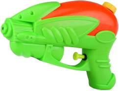 Idena 40322 Wasserpistole aus Kunststoff, kompakte Größe perfekt für den Urlaub, am Strand oder Pool, ca. 18 cm, grün
