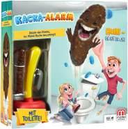 Mattel Games FWW30 - Kacka-Alarm lustiges Kinderspiel geeignet für 2 - 4 Spieler, Spieldauer ca. 15 Minuten, Kinderspiele ab 5 Jahren