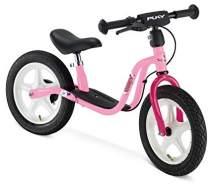 PUKY 4065 'LR 1L BR' Laufrad, für Kinder ab 90 cm Körpergröße, bis 25 kg belastbar, höhenverstellbar, inkl. Bremse, rosa-pink