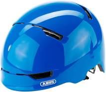 ABUS Fahrradhelm Scraper Kid 3. 0 - shiny blue - 54-58 cm