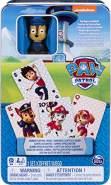 Spin Master Games 6044336 - Jumbo - Spielkarten mit Chase - Figur, in Metallbox