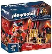 PLAYMOBIL Novelmore 70228 Burnham Raiders Feuerwehrskanonen und Feuermeister, Für Kinder von 4-10 Jahren