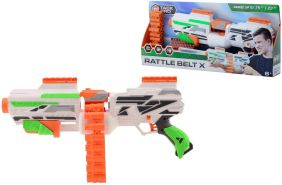 Tack Pro Blaster Attack III mit 40 Darts im Set einzigartiger Spielzeugblaster mit Patronengurt