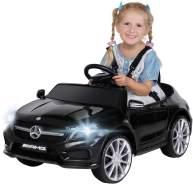 Kinder Elektroauto Mercedes GLA45 Kinderauto Elektrofahrzeug Elektro Spielzeug (Schwarz)