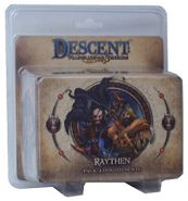 Giochi Uniti GU299 – Descent 2nd Edition – Pack Luogotenente Raythen