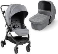 Baby Jogger City Tour LUX Kinderwagen und Stubenwagen | kompakt, leicht, zusammenklappbar und tragbar | Slate (grau)