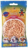 Hama 207-56 - Bügelperlen, ca. 1000 Perlen, Leuchtfarbe rot