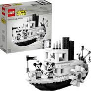 LEGO 21317 Ideas Disney Steamboat Willie Vintage Sammlermodell