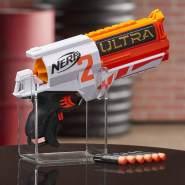 Hasbro Nerf Ultra Two motorisierter Blaster – schnelles Nachladen von hinten – enthält 6 Nerf Ultra Darts – nur mit Nerf Ultra Darts kompatibel