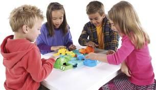 Hasbro Gaming 98936398 - Hippo Flipp Kinderspiel