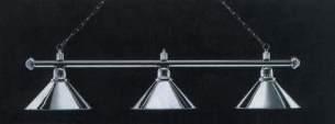 Billardbeleuchtung Modell London chrom