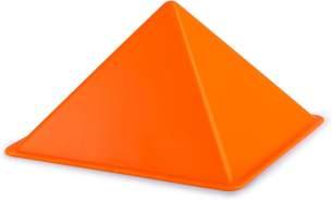 Hape E4070 - Pyramide, Strandspielzeug/Sandspielzeug, orange