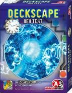 ABACUSSPIELE 38172 - Deckscape – Der Test, Escape Room Spiel, Kartenspiel