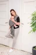 babylonia Tragetuch Tricot-Slen Design Stripes
