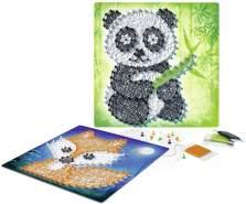 Ravensburger 18029 - String it Midi: Panda & Fox