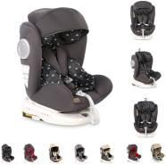 Lorelli Kindersitz Lusso, SPS, Isofix, Gruppe 0+/1/2/3, (0-36 kg), Sitz drehbar, Farbe:schwarz