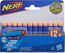 Hasbro Nerf A0350EU4 - N-Strike Elite 12er Dart, Nachfüllpack, Nerf Zubehör,Pack of 12