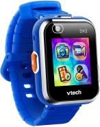 """VTech 'Kidizoom Smart Watch DX2', ab 5 Jahren, LCD Farb-Touchdisplay (1,41"""", 128 x 128 Pixel), inkl. vielen lustigen Uhrmotiven zum Wechseln und aufregenden Bewegungsspielen, blau"""