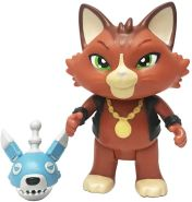 Smoby 180115 Spielfigur Boss mit Falle, Figur aus der 44 Cats Serie, für Kinder ab 3 Jahren, Mehrfarbig