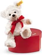 Steiff Sweetheart Teddybär in Herzbox - 22 cm - Kuscheltier für Kinder - weich & waschbar - creme (109904)