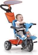 Dreirad Feber Baby Plus Music Blau Orange