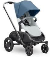 Quinny Hubb Mono XXL Shopping-Kinderwagen, großer Einkaufskorb, einfach klappbarer Kinderwagen, nutzbar ab ca. 6 Monate bis ca. 3,5 Jahre, Blue on Coral