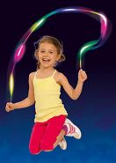 Simba 107302291 Springseil mit Licht, Mehrfarbig