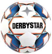 Derbystar Kinder Stratos TT, 1156400167 Fußball, Weiss blau orange, 4