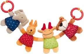 Sigikid, Mädchen und Jungen, Wagenkette Tiere, Mehrfarbig, 49540