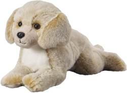 """Bauer Spielwaren """"Deine Tiere mit Herz"""" Labrador liegend: Tolles Kuscheltier zum Kuscheln und Liebhaben, ideal als Geschenk, 36 cm, beige (12529)"""