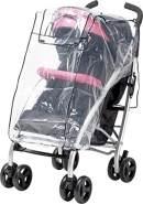 universelle Regenhülle für Kinderwagen transparent