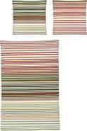 Irisette Biber Bettwäsche 2 teilig Bettbezug 135 x 200 cm Kopfkissenbezug 80 x 80 cm Feel 8216-60 rot