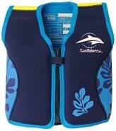 Konfidence Schwimmweste - Design: Blue/palm, Größe: 16-21 kg