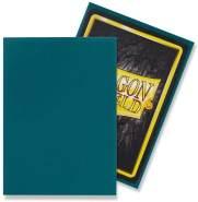 Dragon Shield Matte, Petrol Kartenfolien Kartenhüllen Sleeves - für Sammelkarten wie Pokemon Magic - Standardgröße