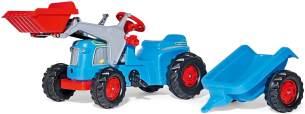 Rolly Toys Traktor rollyKiddy Classic (inkl. rollyKid Lader + Trailer, Heckkupplung, für Kinder im Alter von 2 ½ - 5 Jahre, ohne Hupe) 630042
