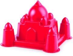 Hape E4063 - Taj Mahal, Strandspielzeug/Sandspielzeug, rot