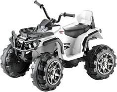 Jamara Ride-on Quad 'Protector', weiß, 12V, ab 3 Jahren