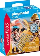 Playmobil Special Plus 70302 'Gladiator mit Waffenständer', 15 Teile, ab 4 Jahren