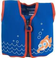 Konfidence Jacket Kinder Schwimmweste Schwimmhilfe Neopren Scoot the Clownfish 4 - 5 Jahre