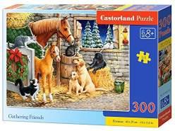 Castorland B-030255 Gathering Friends Puzzle, 300 Teile, bunt
