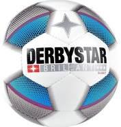 Derbystar Brillant S- Light Trainingsball, weiß, Gr. 4