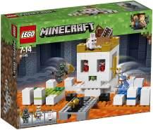 LEGOMinecraft Die Totenkopfarena (21145) Minecraft Minifiguren und Spielzeug für Kinder